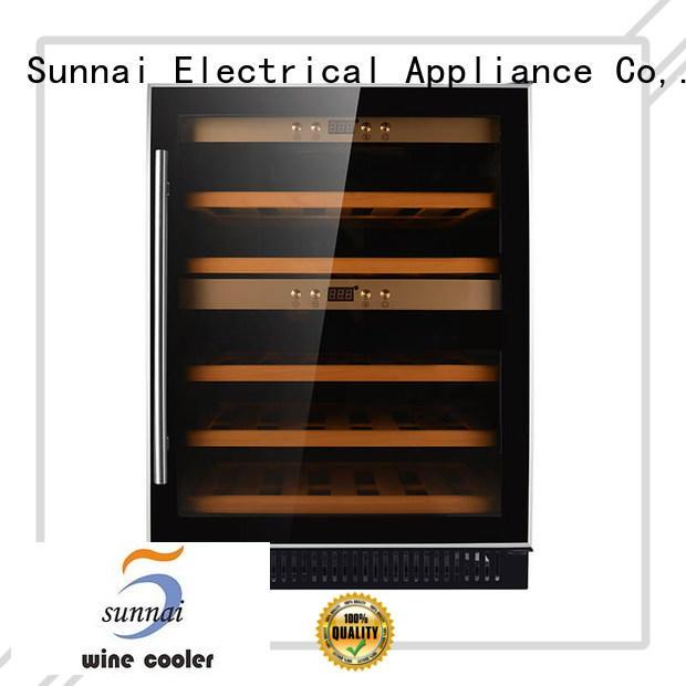 Sunnai silver under counter wine refrigerator compressor for home