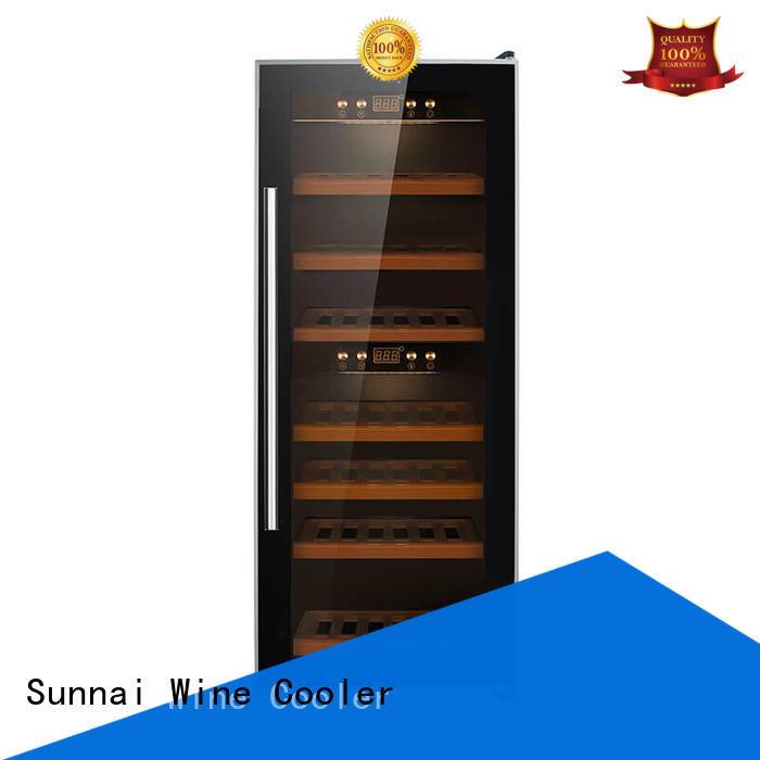 Sunnai single wine bottle fridge refrigerator for shop