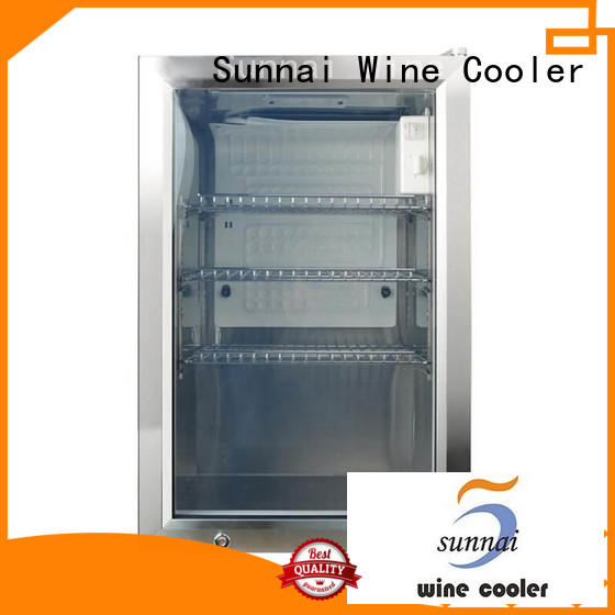 Sunnai high quality small size beverage cooler supplier for work station