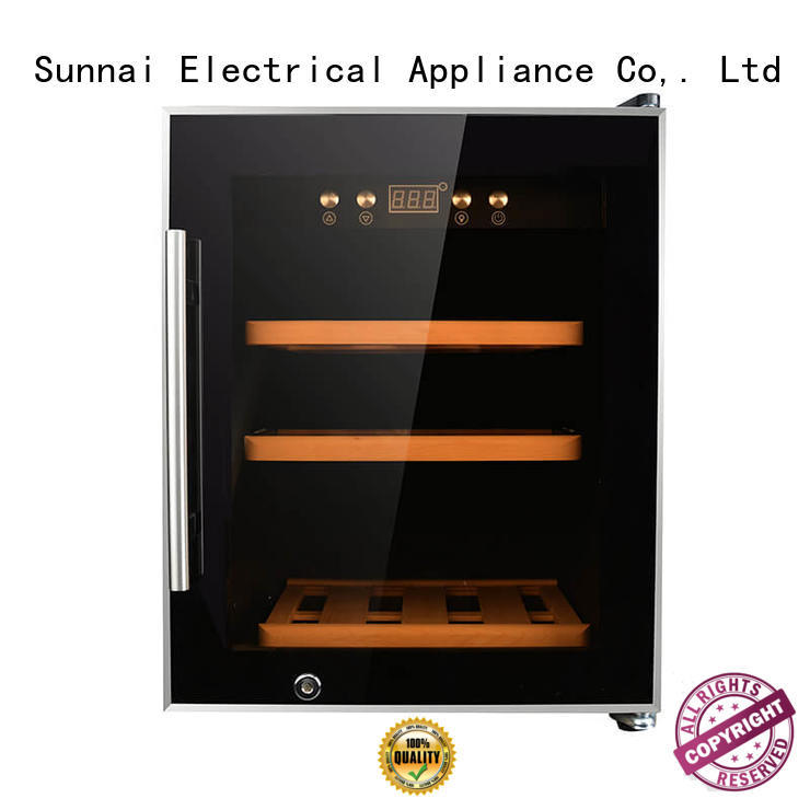 Sunnai smaller freestanding wine cooler series for home