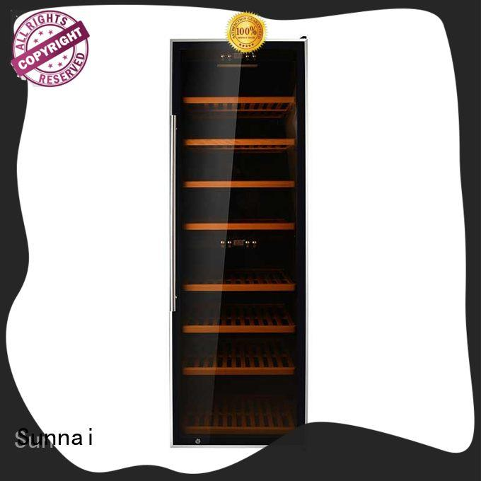 wine compressor wine cooler dual zone steel wholesale for work station