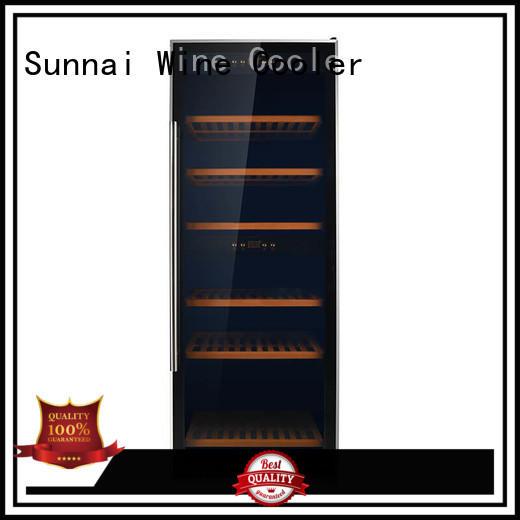Sunnai bottles wine storage cooler wholesale for work station