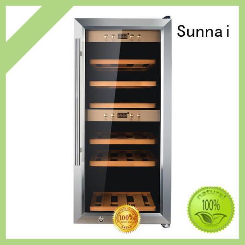 Sunnai refrigerator wine bottle cooler series for indoor