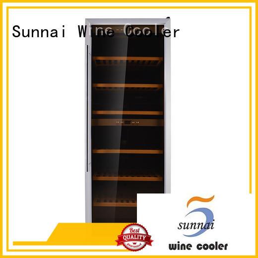 online wine bottle fridge silver product for home