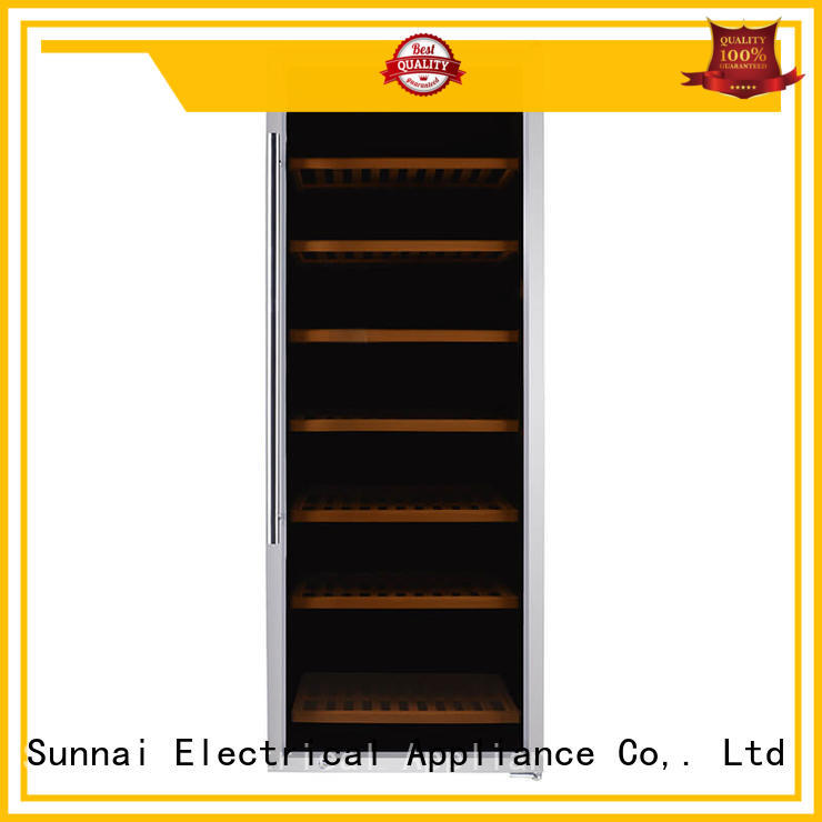 professional dual zone wine fridge cooler supplier for home