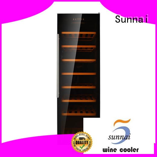 Sunnai chiller single zone wine refrigerator series for home