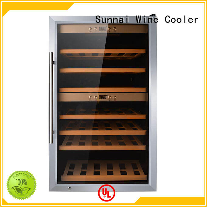 Sunnai wood wine storage fridge series for shop