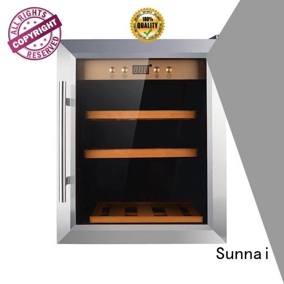 Sunnai bottles wine cellar fridge wholesale for shop