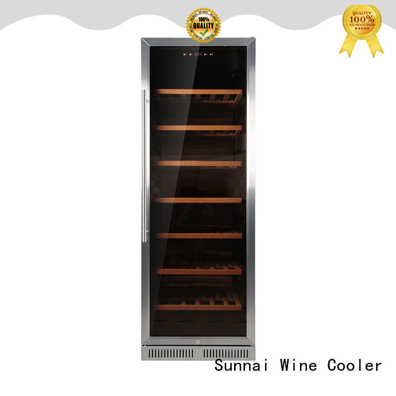 high quality under counter wine refrigerator wine wholesale for shop