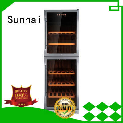 safety under counter wine cooler silver manufacturer for home
