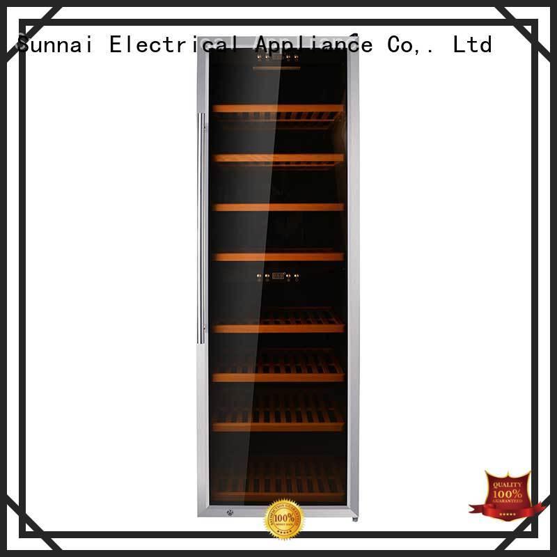Sunnai silver wine storage fridge wholesale for indoor