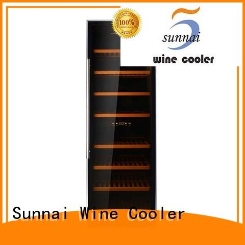Sunnai durable freestanding wine fridge series for work station