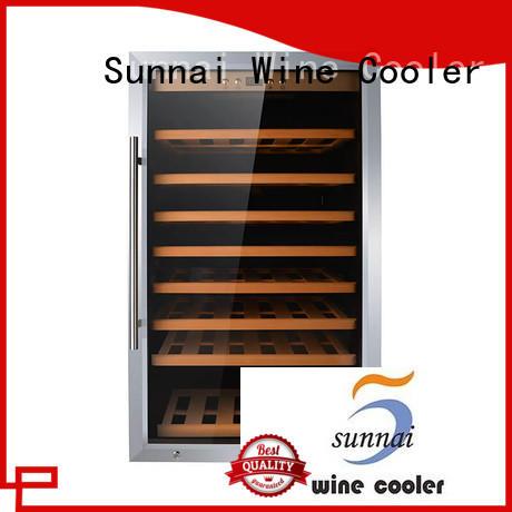 Sunnai wine wine cooler refrigerator supplier for indoor