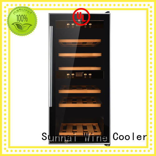 Sunnai professional dual zone wine fridge series for home