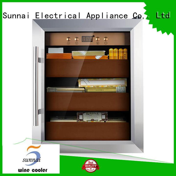 quality cigar fridge supplier for work station Sunnai