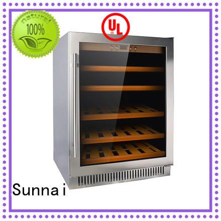 Sunnai online cheap under counter wine cooler undercounter for work station