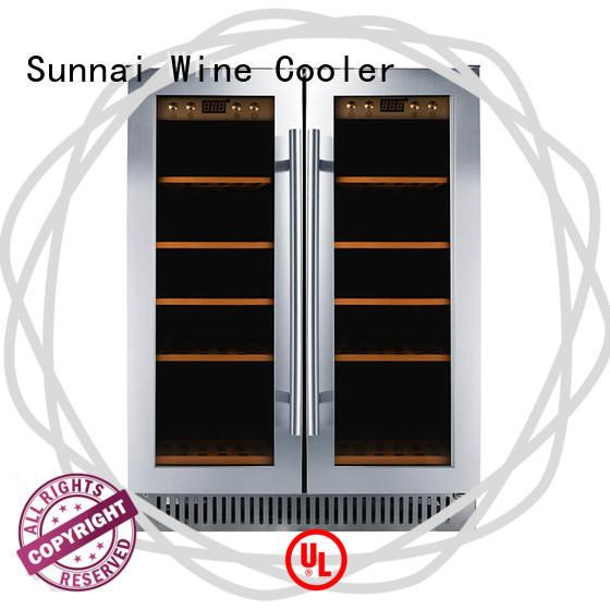 Sunnai wine single zone wine fridge compressor for shop