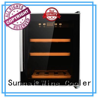 Sunnai online single zone wine fridge refrigerator for indoor
