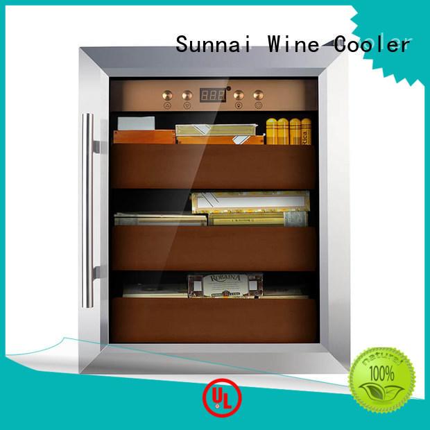 Sunnai online cigar fridge product for shop