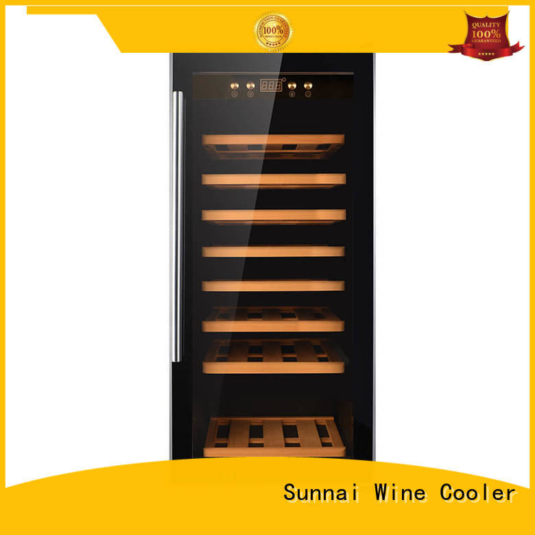 Sunnai durable stainless steel door wine cooler product for home