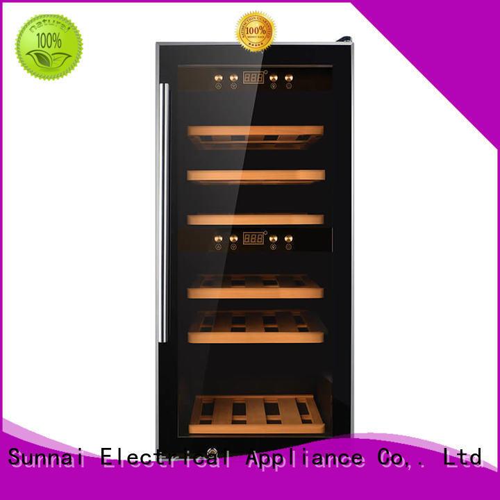durable freestanding wine fridge table supplier for home