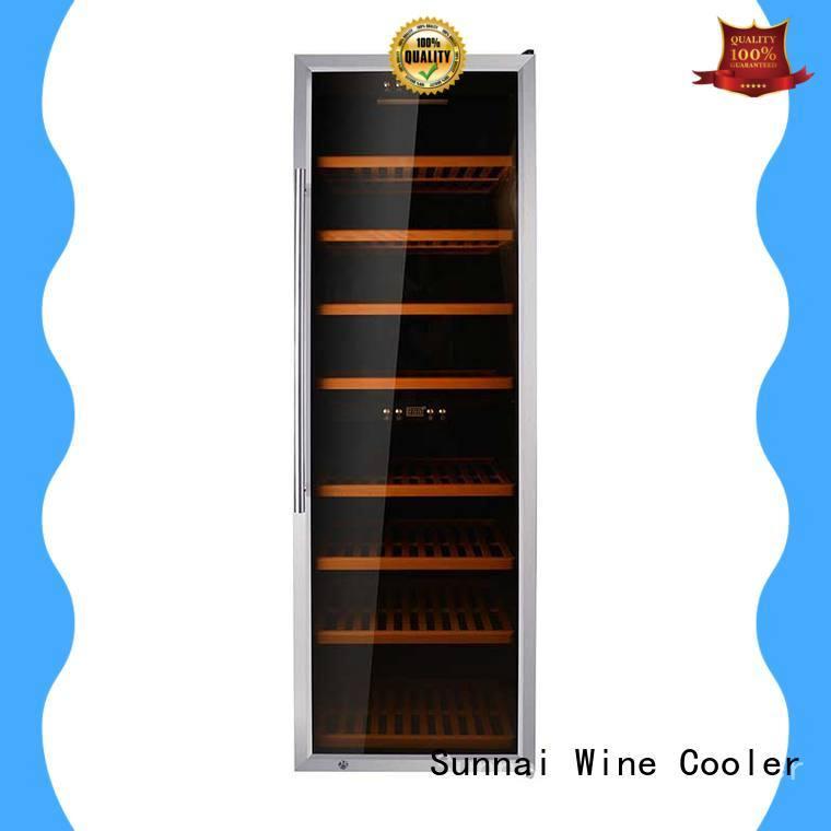 wine storage refrigerator door station Sunnai