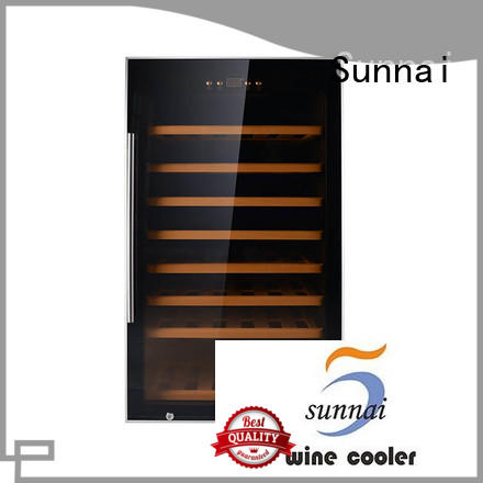 Sunnai panel freestanding wine fridge wholesale for indoor