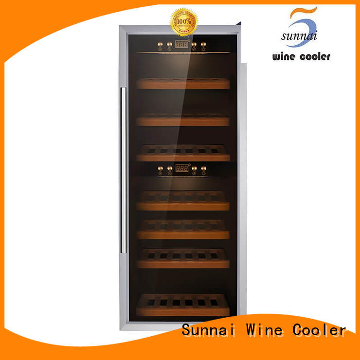 high quality wine cooler fridge single wholesale for home