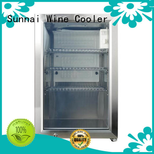 hd compressor beverage cooler support series for indoor
