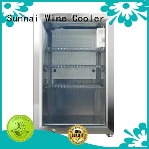 hd compressor beverage cooler support series for indoor