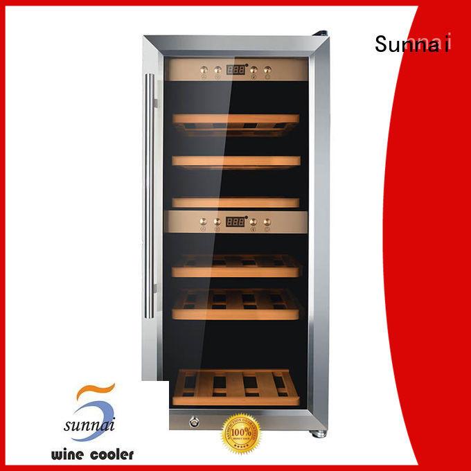 Sunnai durable wine storage cooler refrigerator for indoor
