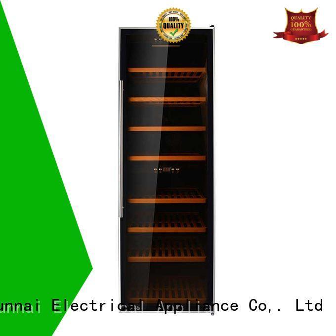 Sunnai zone wine cooler fridge manufacturer for indoor