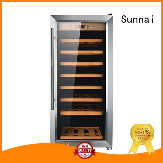 Sunnai online single zone wine cooler manufacturer for work station