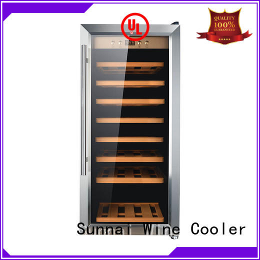 Sunnai black wine storage cooler wholesale for home