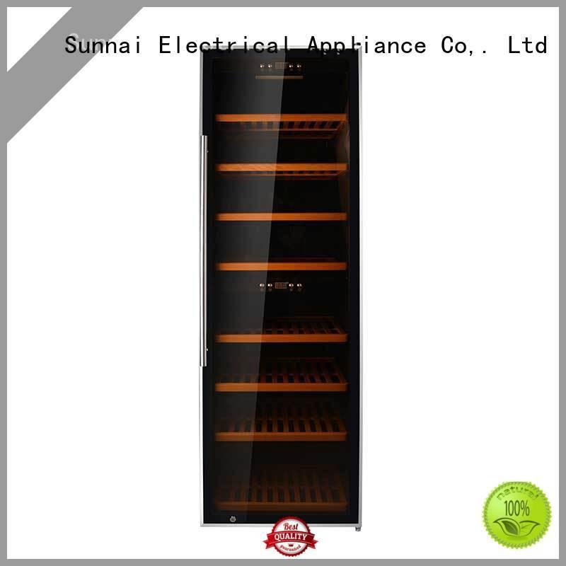Sunnai high quality wine cooler refrigerator series for shop