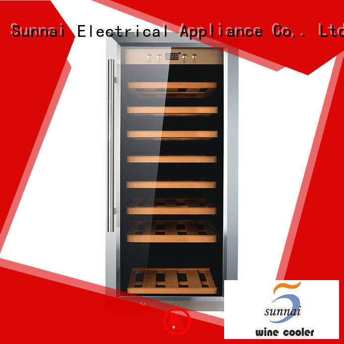professional single zone wine cooler panel refrigerator for home