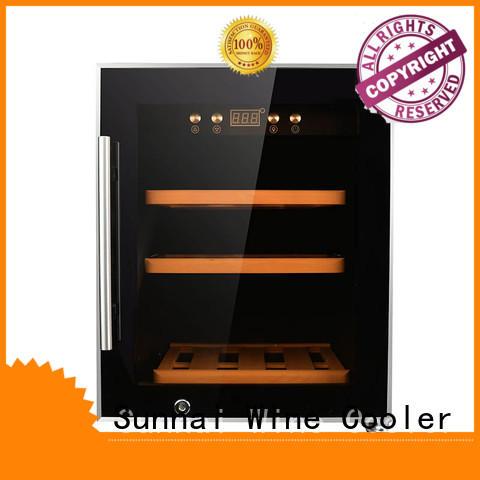 Sunnai professional cheap wine fridge product for home