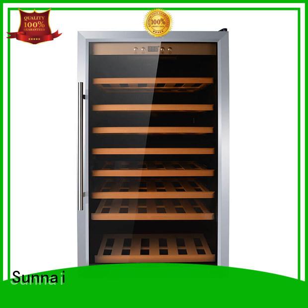 Sunnai single 200 bottle wine cooler cellar station
