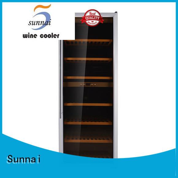Sunnai single freestanding wine fridge manufacturer for work station