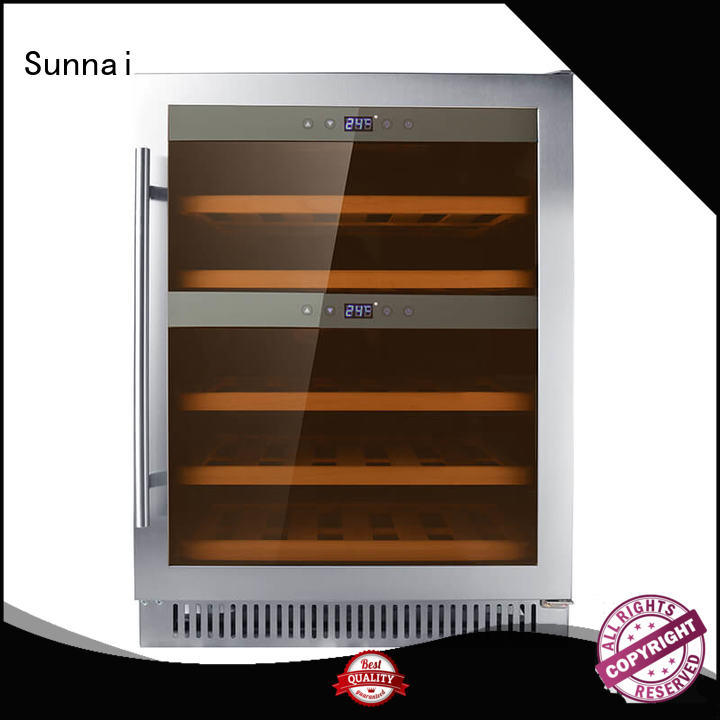 Sunnai high quality compressor wine coolers series for home