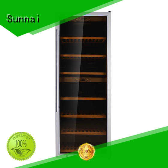 Sunnai wine compressor wine cooler dual zone series for indoor