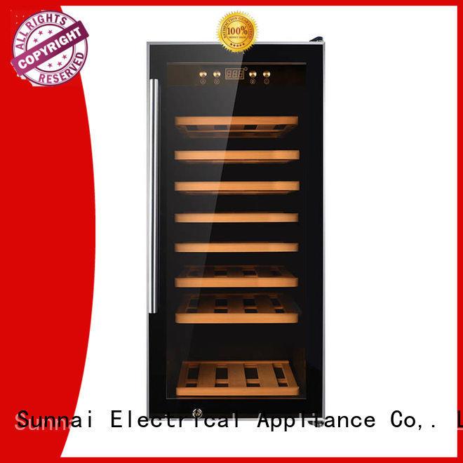 Sunnai safety wine cellar fridge supplier for work station