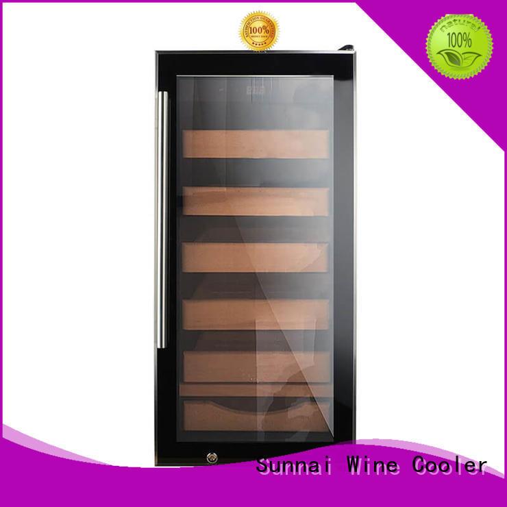 Sunnai sale cigar refrigerator cedar for work station