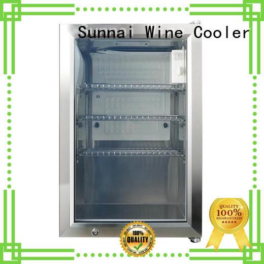 Sunnai hd compressor beverage cooler manufacturer for work station