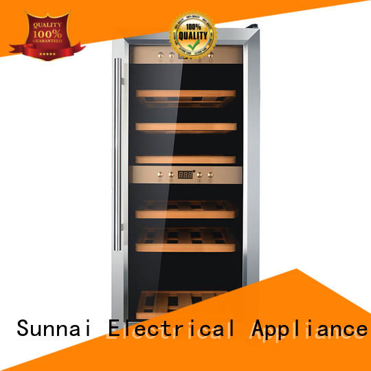 durable wine bottle cooler refrigerator product for work station