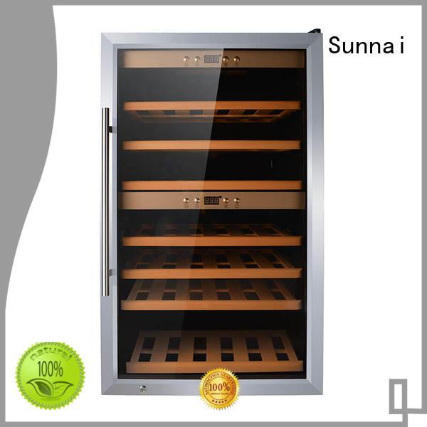 Sunnai single wine cooler refrigerator series for home