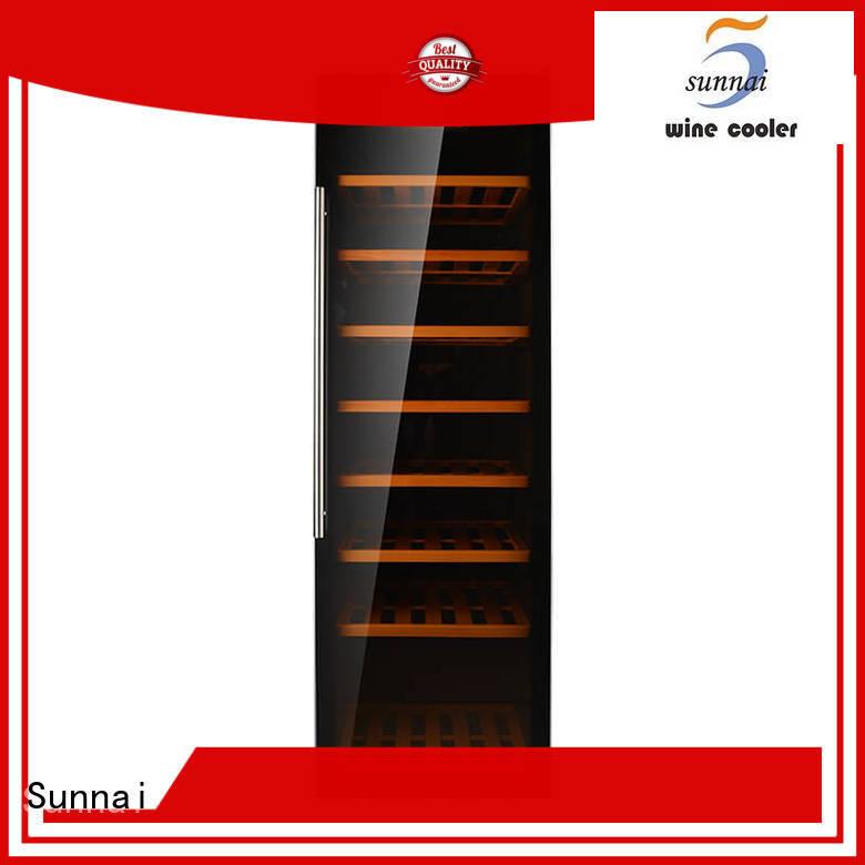 Sunnai stainless wine cellar fridge series for work station