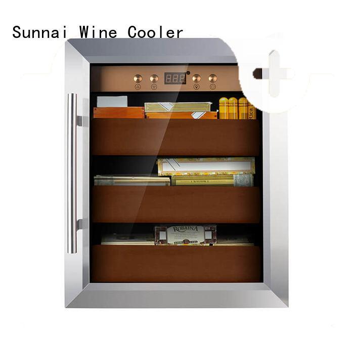 Sunnai online cigar fridge product for home