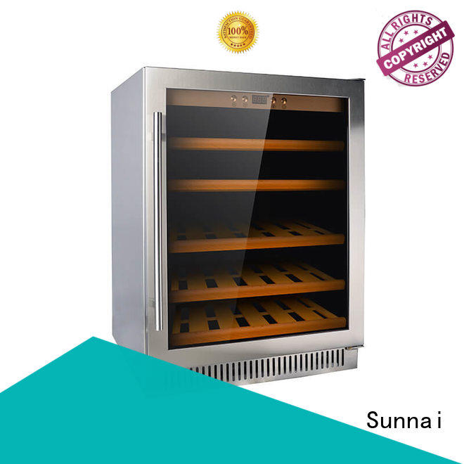 Sunnai professional single zone wine fridge series for home