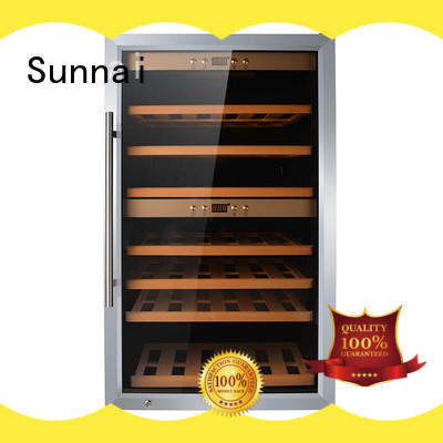 Sunnai online wine cooler fridge product for shop